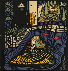 Oskar-Kokoschka-2.jpg 900×945 pixels #print #retro #colours #arts #illustration #fine