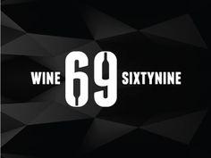 Wine69 #wine #logo #corporate #brand #identity #type #high #typography