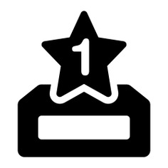 See more icon inspiration related to first, best, prize, award, trophy and shapes on Flaticon.