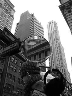 Black and White Urban Scenes by Frederic Bourret