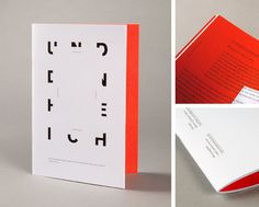 graphic exchange #print #booklet #red