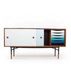 Sideboard By Finn Juhl – 10 | Designalmic #classic #danish
