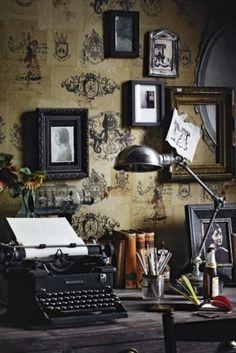 Home #interior #vintage