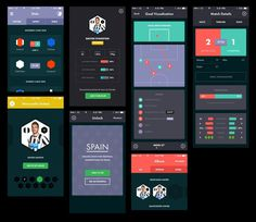Real_pixels #flat #ios #football #app