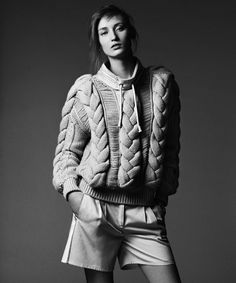 Alex Yuryeva by Bjarne Jonasson for Le Monde Magazine #model #girl #photography #fashion #editorial
