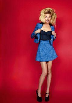 Merde! - Fashion photography (Toni Garrn photographed by... #fashion