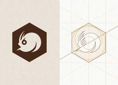 Angry Catfish Bicycle Shop + Coffee Bar - Aaron Melander Design #angry #geometric #catfish #grid #identity #angles #logo