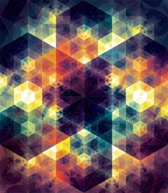 WANKEN - The Blog of Shelby White» Andy Gilmore Geometric Patterns #art #geometric #andy gilmore