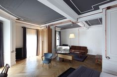Karaköy Rooms by RunArchitects // Istanbul, Turkey. | yellowtrace blog » #interior #hotel #copper #white