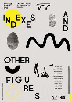 indexes_fin_web.jpg 800 × 1 143 pixels #poster #typography