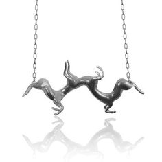 Oxidised Twisted Horse Necklace — SMITH/GREY Jewellery Design Studio