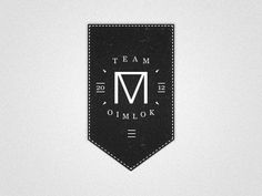 Dribbble - Oimlok by Nol Cobben #label #logo #grain #vintage #type #typo #typography