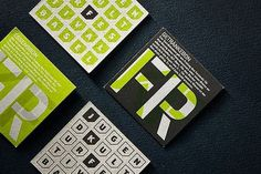 Looks like good Graphic Design by Andreas Hidber #print #cards #business #stationery