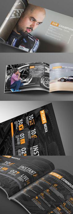 Infographic typography