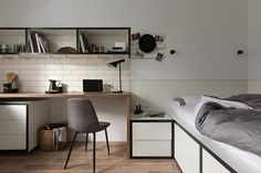 Well Planned Tiny Apartment in Odessa with an Inviting Interior Design 1