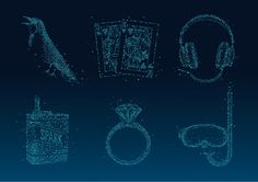ILLUSTRATIONS-ALL #visual #branding #language #dots #magnetic #identity #logo