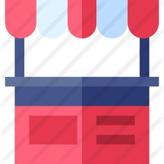 See more icon inspiration related to commerce and shopping, architecture and city, stand, transportation, store, buildings, shop, market, business and restaurant on Flaticon.