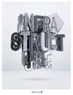 Awesome #3D #Type