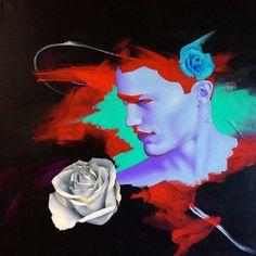 Zac Roz   PICDIT #mixed #media #art #painting