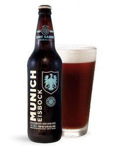 Fort Garry Munich Eisbock #packaging #beer #design #bottle