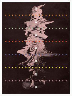 Unwound Film Poster - Ben Grandgenett #dots #poster #film