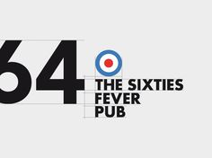 1964, The sixties fever pub on Behance