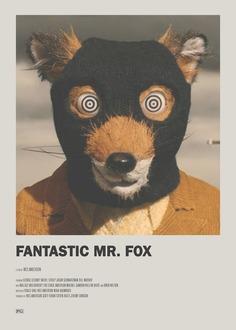 Fantastic Mr. Fox Minimal Movie Poster