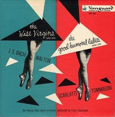 Symphonie Fantastique: The Wise Virgins (Vanguard) #album #design #graphic #cover #mid #century