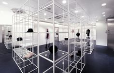Selling Spaces: new directions in retail design #white #black