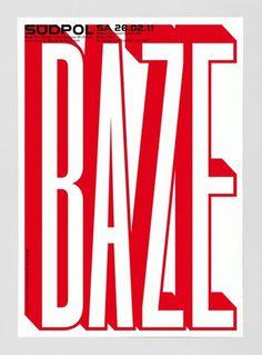 Südpol 2011 « FEIXEN: Design by Felix Pfäffli #2011 #red #design #baze #sudpol #poster