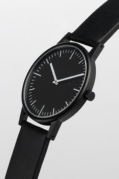 Minimal Style Watch #white #watch #black #photography #minimal #and
