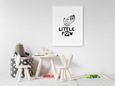 Little Fox Kids Scandinavian Wall Art
