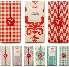 Chocolats Favoris Logo and Packaging #packaging