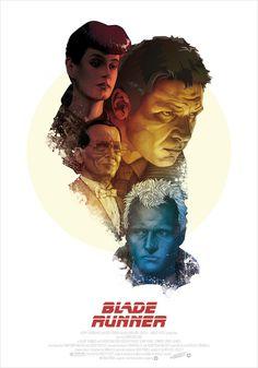 BLADE RUNNER Poster   DANI BLÁZQUEZ