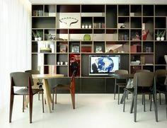 citizenM Opens 2nd Hotel in Amsterdam » CONTEMPORIST #interior #shelf #book