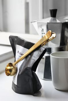 coffee talk | sfgirlbybay #interior #design #decor #kitchen #deco #coffee #decoration