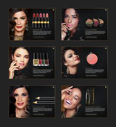 Make B. Barroco Tropical on Behance #site #makeup #moda #website #digital #fashion #luxury