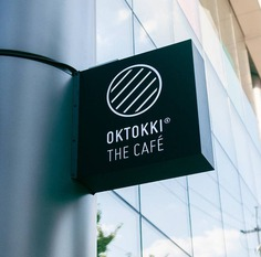 Wayfinding | Signage | Sign | Design | OKTOKKI The Café Branding