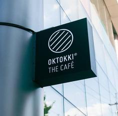 Wayfinding | Signage | Sign | Design | OKTOKKI The Café Branding