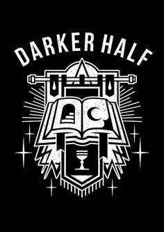 BOOK #illustration #graphicdesign #darkerhalf #darkerhalfcult #tattooart #endordesigns