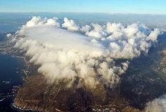 100 Incredible Views Out Of Airplane Windows #clouds #mountain #africa #south #table