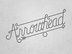 Arrowhead #design #quality #typography