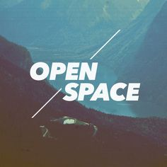 Open Space #design #typography