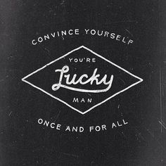 Instagram photo by askmetolie - #typo #typography #lettering #handdrawn #handlettering #lucky