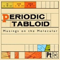 Periodic Tabloid | Chemical Heritage Foundation #retro #grid #layout #science #typography