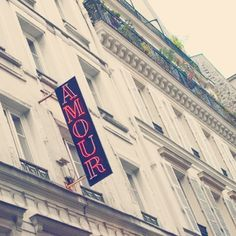 Typeverything.com - Amour Signage (via True Love... - Typeverything #signage #sign #neon
