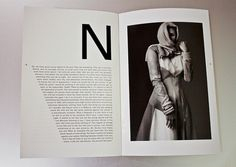 WILDE Magazine on Typography Served #typography #photography #magazine #black and white #wilde magazine