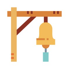 See more icon inspiration related to train, bell, miscellaneous, transportation, train station, alarm, ring and warning on Flaticon.