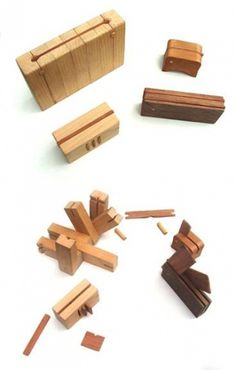 Dan Bina #bina #japanese #design #puzzle #box #dan #wood #jewelry