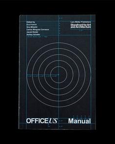 Book designed by Pentagram's Natasha Jen for OfficeUS Manual published by Lars Müller Publishers
